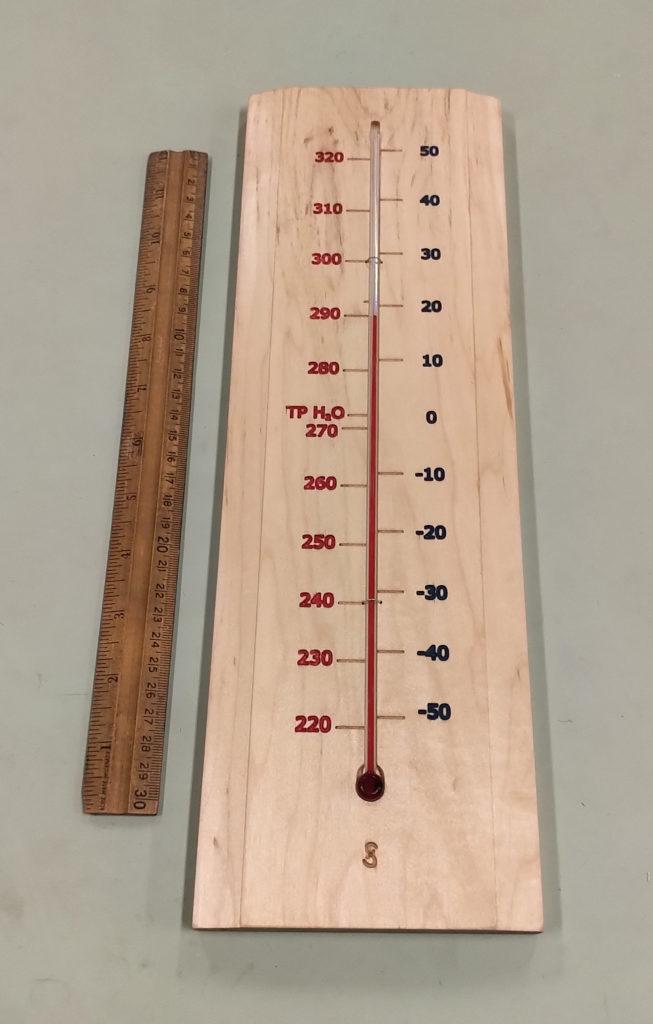 Kelvins and Celsius Scale