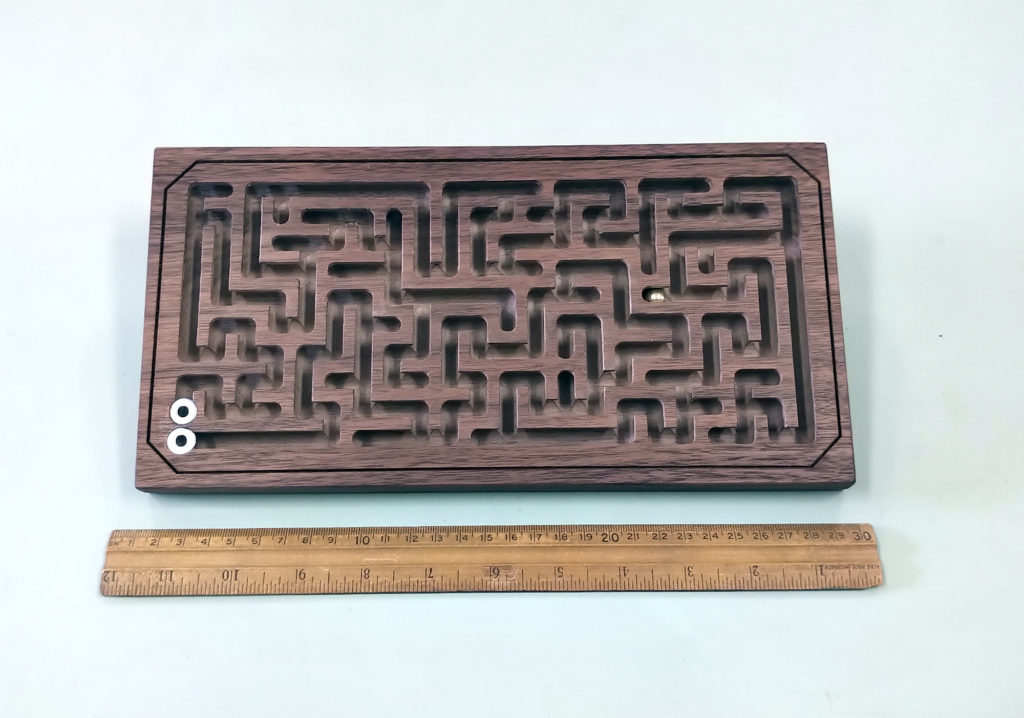 Medium Walnut Maze