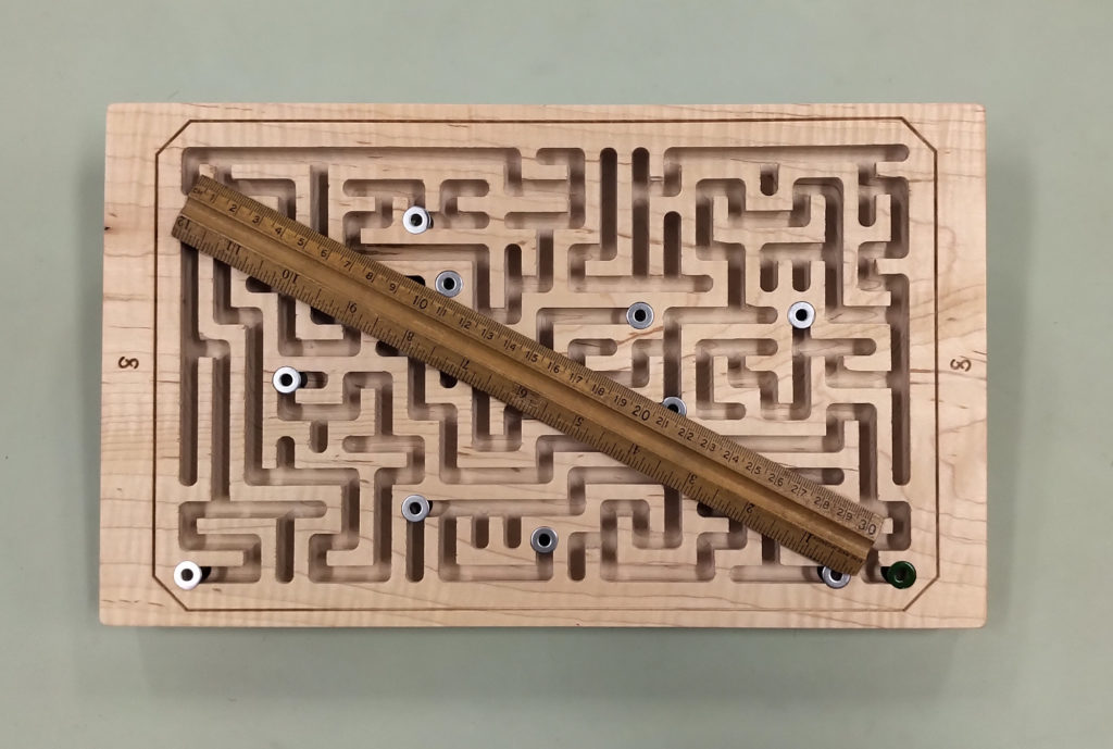 Double-sided Maze